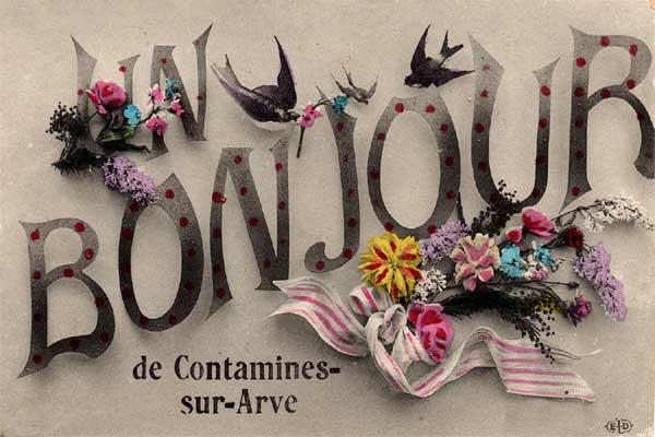 Bonjour de Contamine-sur-Arve
