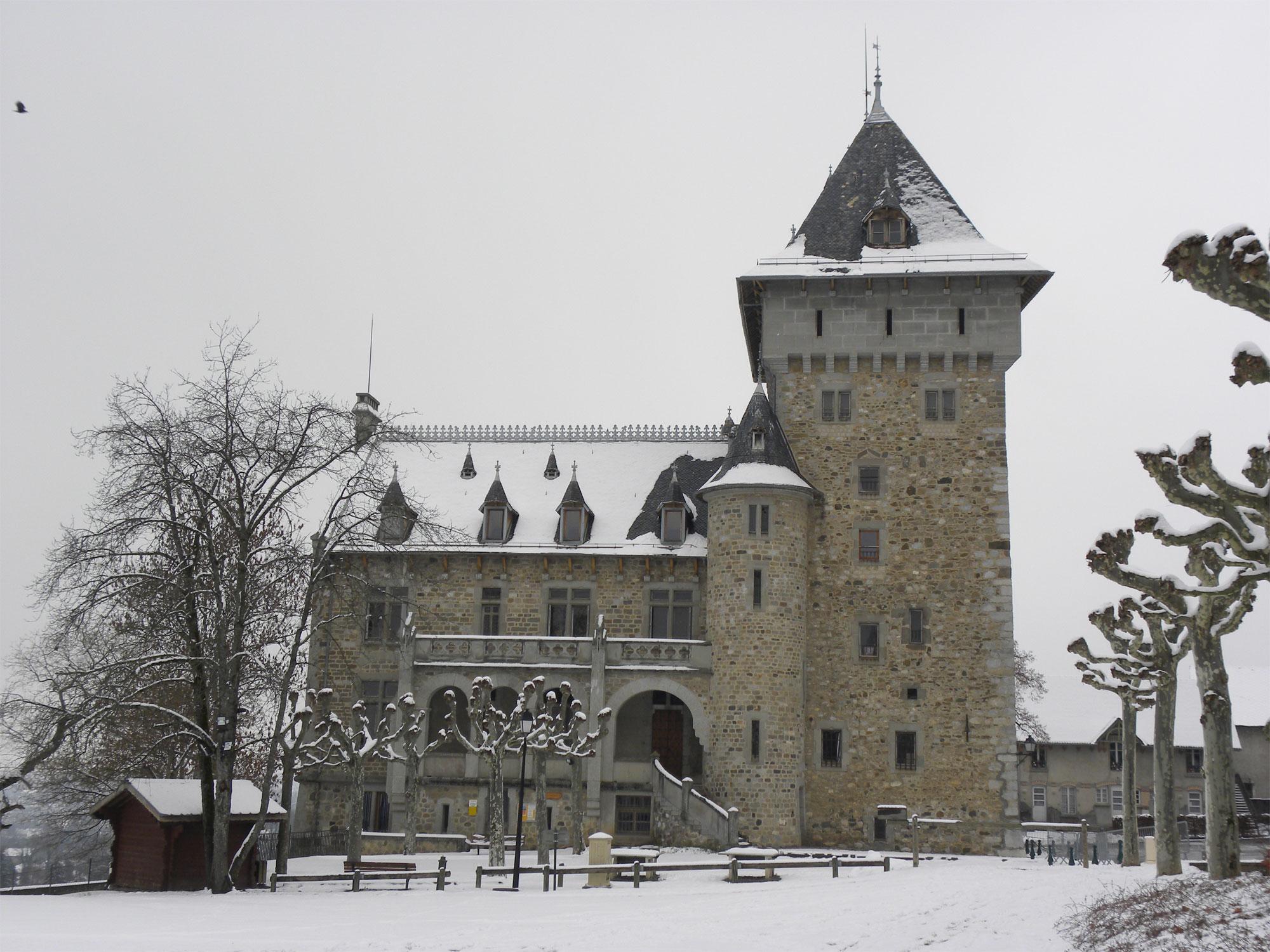 Château de Villy <br /> Hivers 2012